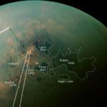 Моря и озёра на Титане