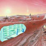Подземные жилища на Марсе